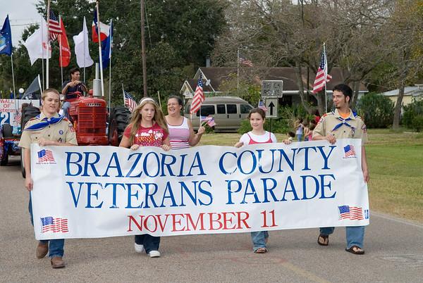 Brazoria County Veteran's Day Parade 2007-Danbury