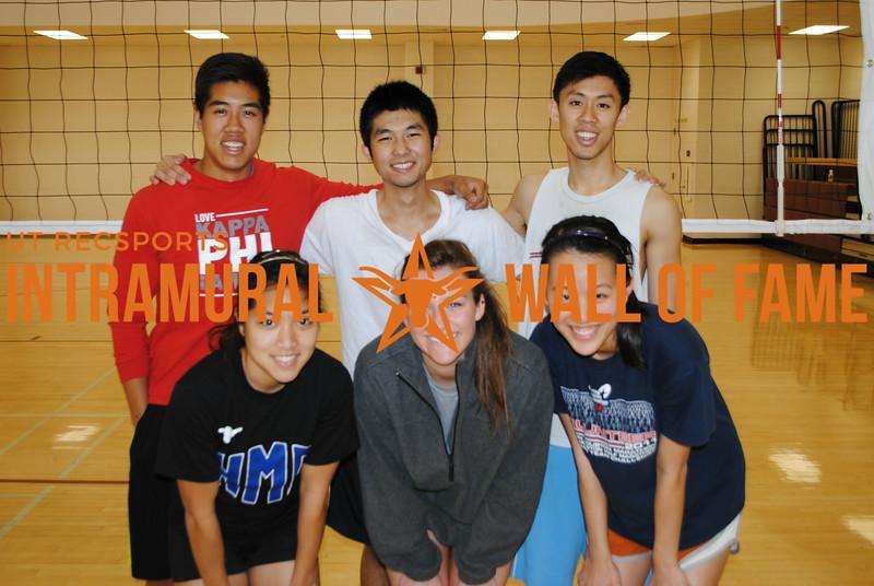 SPRING VOLLEYBALL Runner Up  HMD  R1: Sabrina Chanthalath, Audrey Zatopek, Tanya Xiong R2: Kevin Li, Johnny Thai, Joseph Pao-Wu