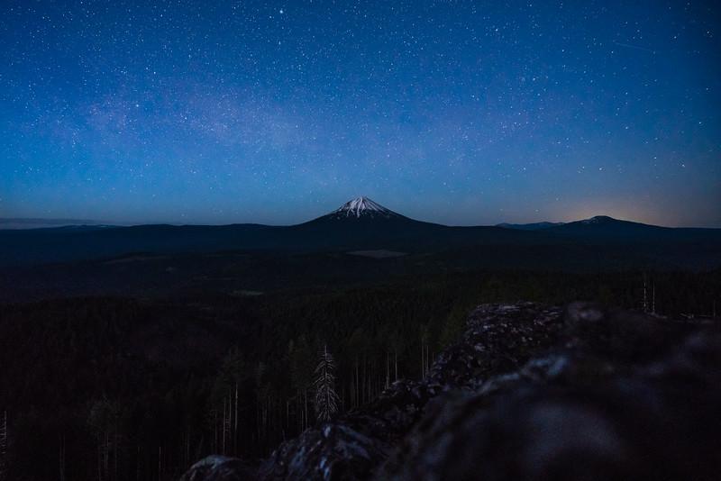 Mount McLoughlin, Oregon