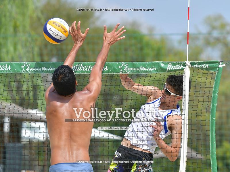 presso Zocco Beach PERUGIA , 25 agosto 2018 - Foto di Michele Benda per VolleyFoto [Riferimento file: 2018-08-25/ND5_8723]