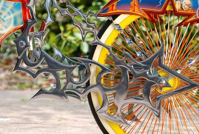 Angel and Dragon Ball Z bikes