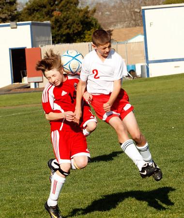 RCS MS Boys' Soccer vs Valley - March 11, 2011