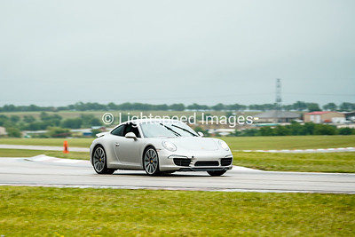 Silver Porsche 911 Carrera S
