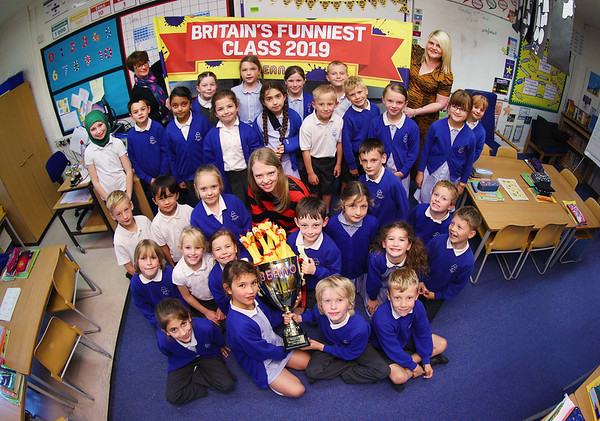 11/6/19 - Beano's Britains Funniest Class Competition