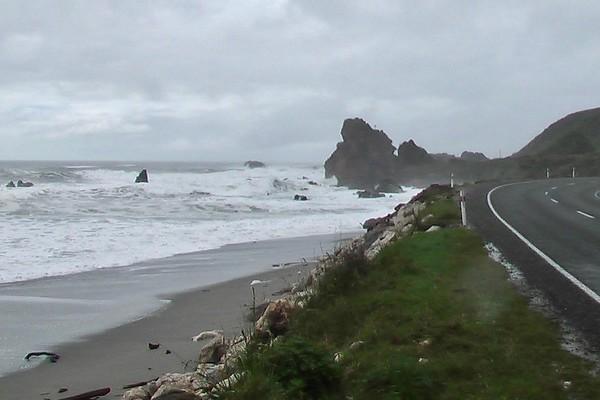 West Coast and Pancake Rocks (October 16, 2004)
