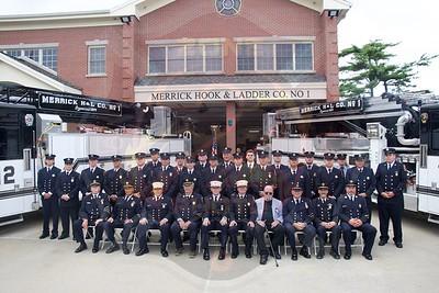 Merrick F.D.  Dedication for Ladders 6411 & 6412  7/10/21