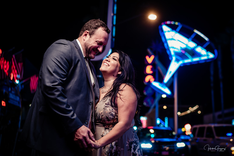 Las Vegas Wedding Aniversary  shooting