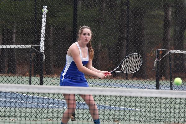 Girls' Varsity Tennis vs. Brewster: April 22
