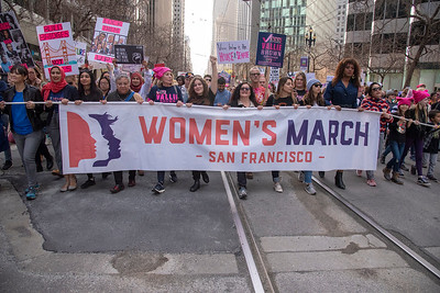 Jan 19 Women's March San Francisco