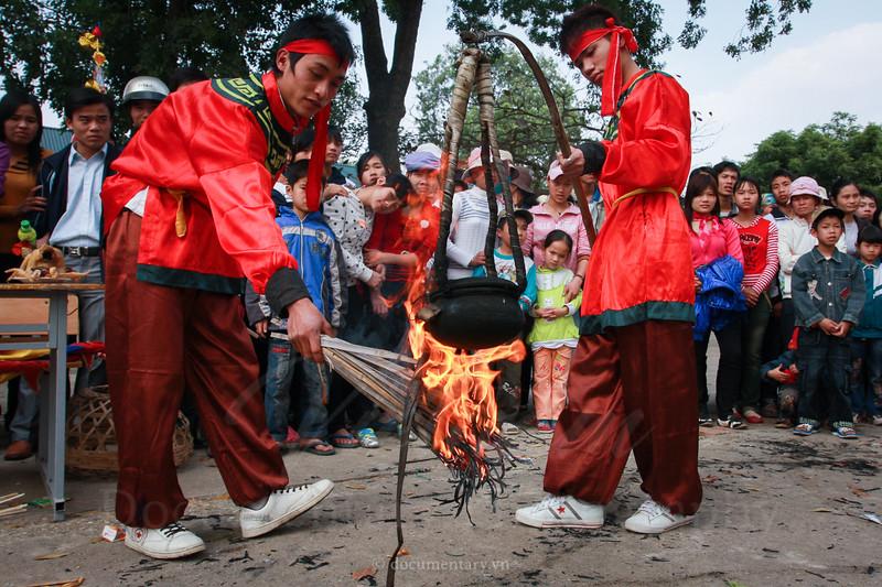 Thi nấu cơm - Lễ hội Cổ Loa - Đông Anh - Hà Nội