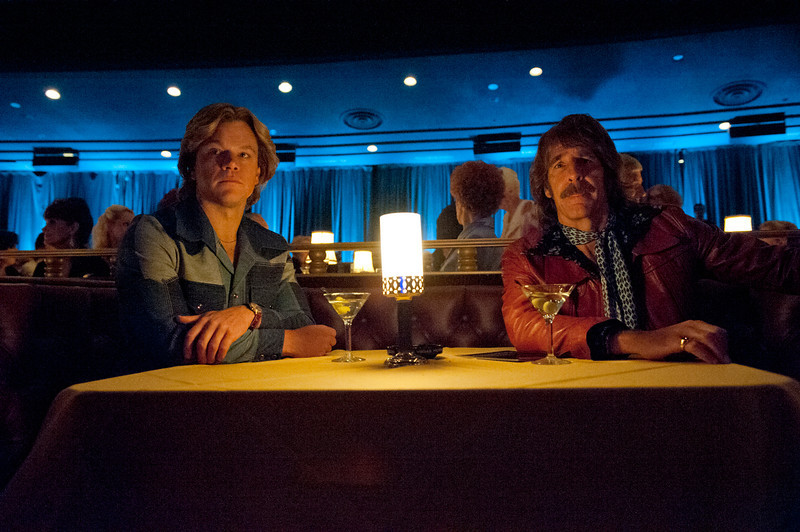 ". Matt Damon, Scott Bakula in ""Behind the Candelabra\"""