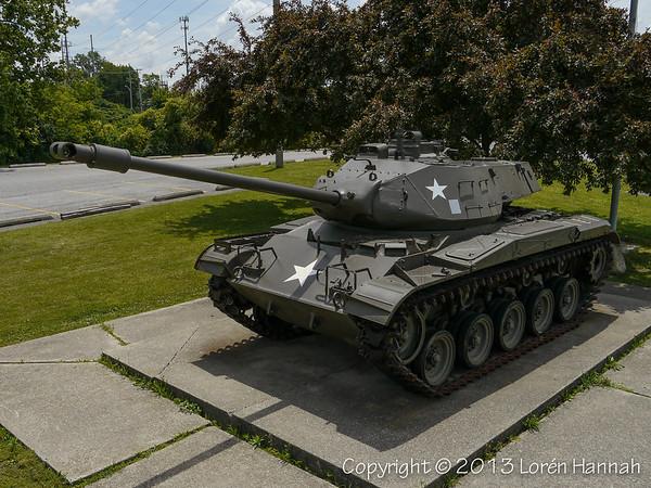 Veterans Memorial - Ft Wayne, IN - M41A3