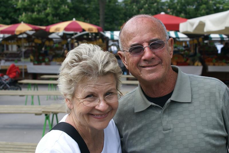 Parents in Ljubljana.