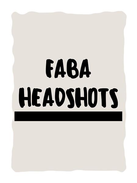 FABA HEADSHOTS