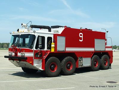 Hanscom Air Force Base Fire Apparatus