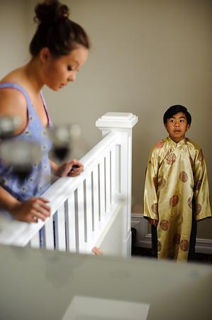 Bride Getting Ready (Vietnamese)
