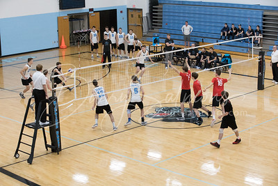 2017 Hilliard Darby Volleyball - Various Games