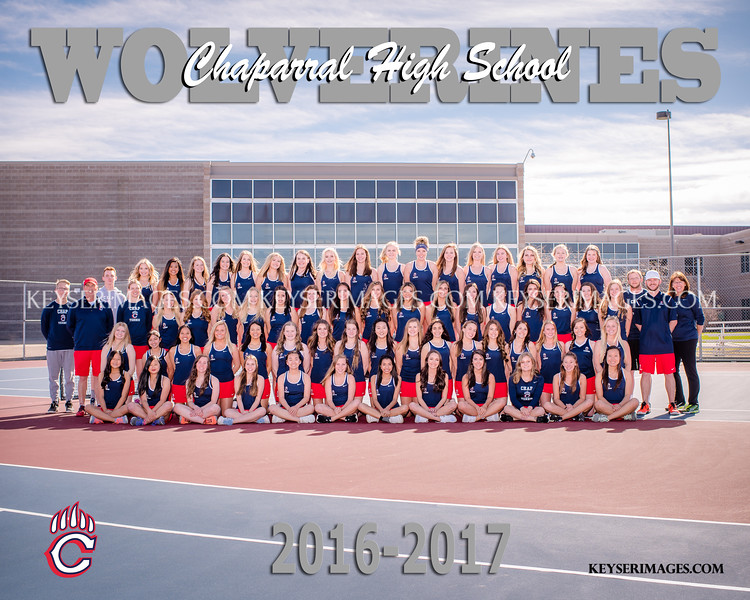 2016-2017 CHAPARRAL GIRLS TENNIS