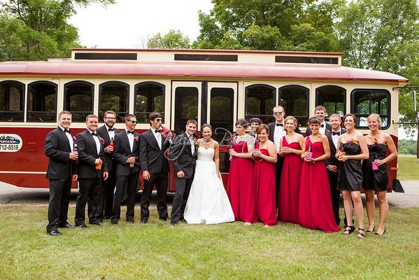 Wedding Party - Katie and Adam
