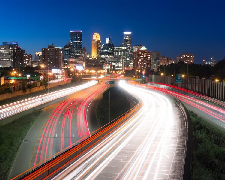 Minneapolis traffic flow