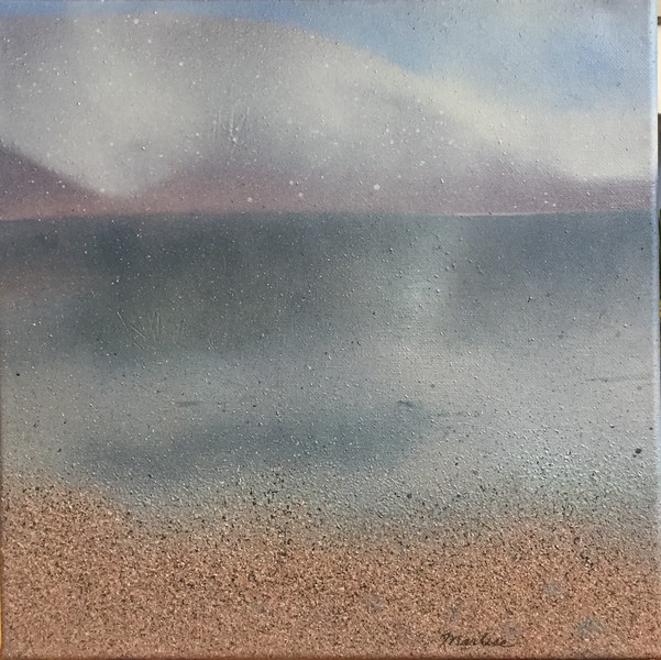 Lake Scene- left