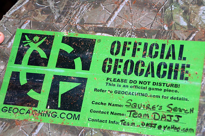 geocache  Hunts 06-07