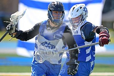 4/10/2016 - Israel Lacrosse U-19 Men Blue vs. White Game - Brooks Stadium at United States Merchant Marine Academy, Kings Point, NY