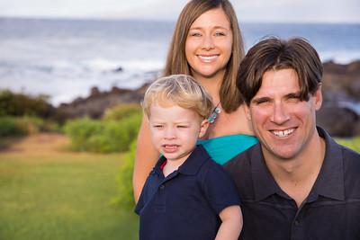 Sholl Family Maui Beach Portraits