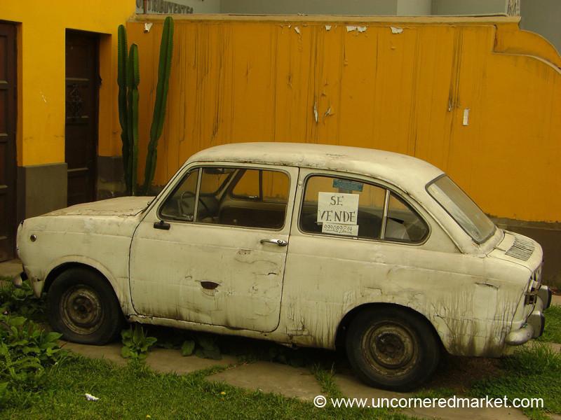 Any Buyers? Lima, Peru