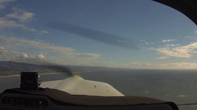 Winter Flight to Half Moon Bay