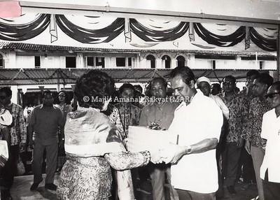 1973 - PERASMIAN RUMAH KEDAI MARA DI KUALA KANGSAR
