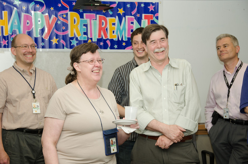 Carol Grady speaks -- Bruce Woodgate retirement party, NASA/GSFC, June 2013