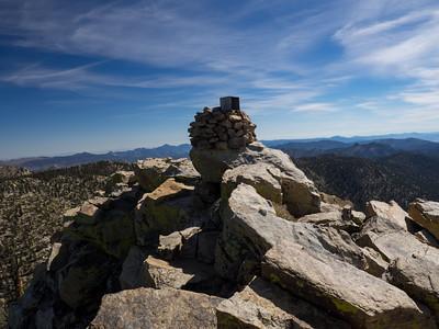 Sirretta Peak - Southern Sierra 10-23-15