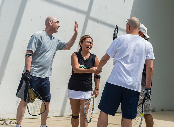 2014-05-03 Mid-Atlantic World Outdoor Racquetball shootout to support the LPRT