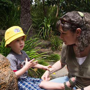 Fun at the Royal Botanic Gardens