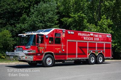 Franklin Fire Co. (Burlington County NJ) Rescue 3318