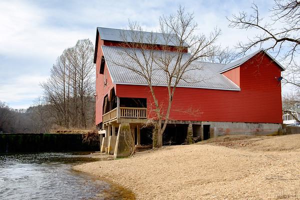 Rockbridge Mill, Jan. 13, 2021