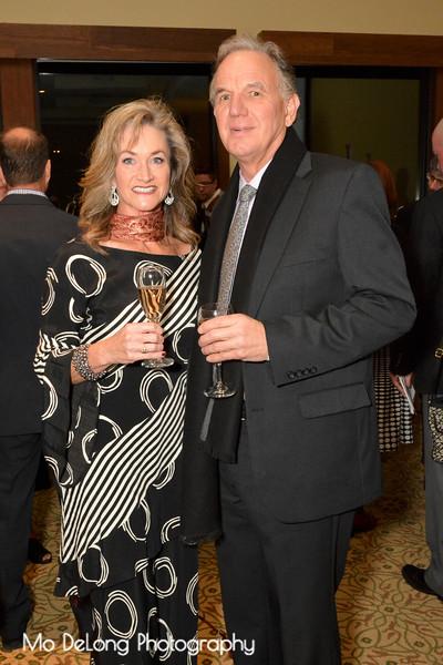 Anne O'Brien and Gary Pusel