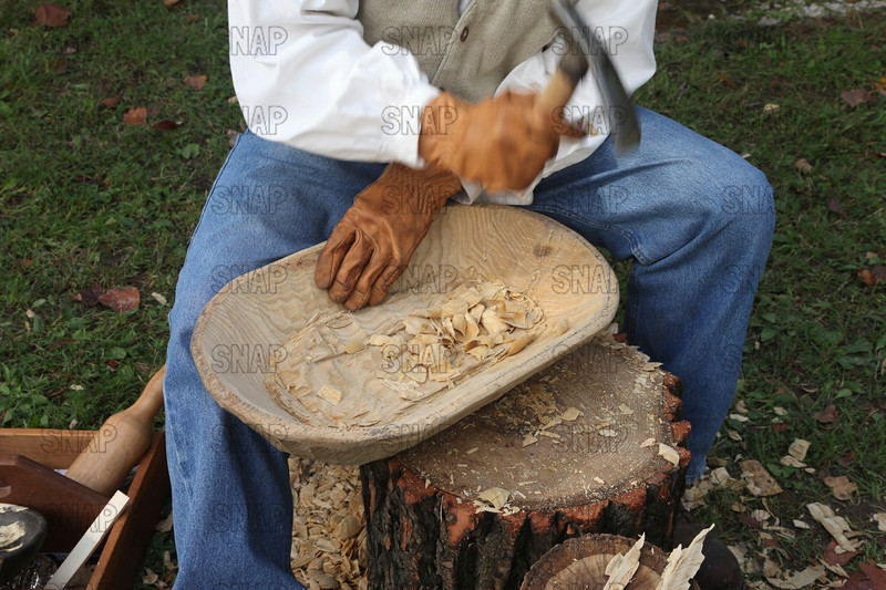Wooden Bowl Carving