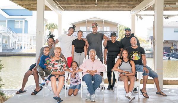 Bertha Kelly's 73rd Birthday with Family Shoot