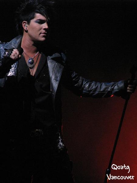 Adam Lambert - Idols Live - Vancouver