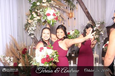 Teresa & Andrew Wedding - October 26, 2019