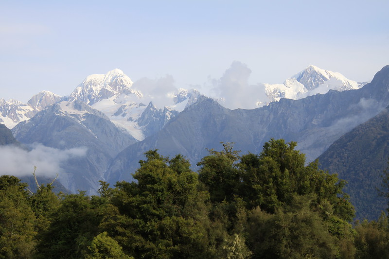Mt. Tasman and Mt. Cook 12,218'