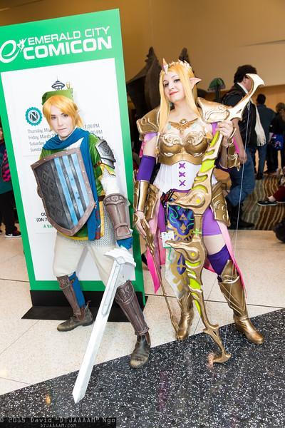 Emerald City Comicon 2015 - Saturday