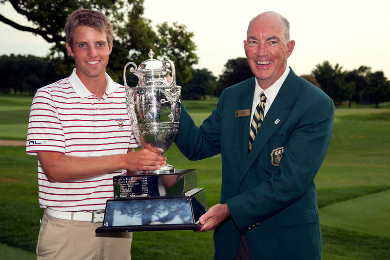 Chris Williams defeated Jordan Russell 1 up to win the 2012 Western Amateur Championship at Exmoor Country Club in Highland Park IL. on Saturday, August 4, 2012. (WGA Photo/Charles Cherney)