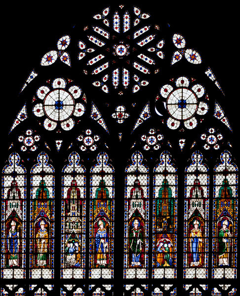 Meaux, Saint-Etienne Cathedral South Rose Window