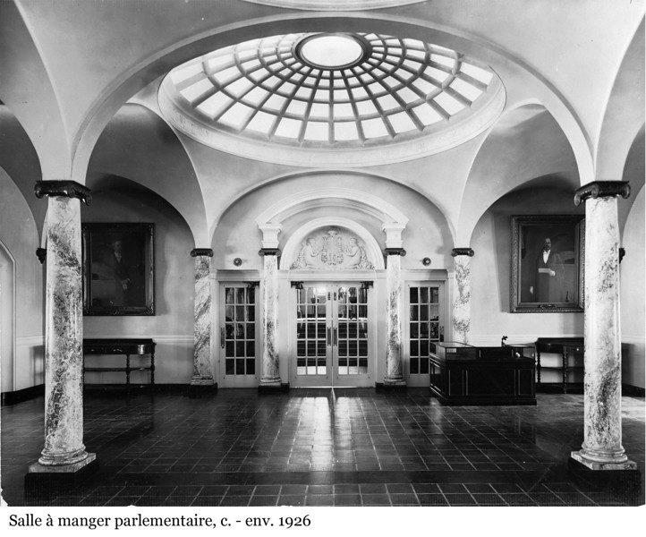 Parliamentary Restaurant - Salle à manger parlementaire, c. -env. 1926