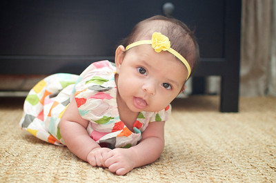 Baby Claire {3 Months!}