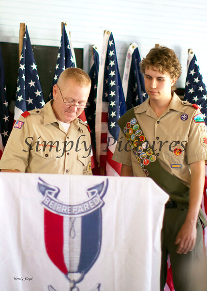 Eagle Scout Ceremony for Weston032