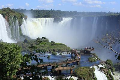 Iguazu Falls, Puerto Iguazú, Argentina and Brazil 2013
